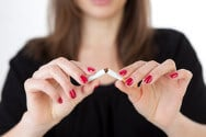 smoking cessation can lead to modest weight gain