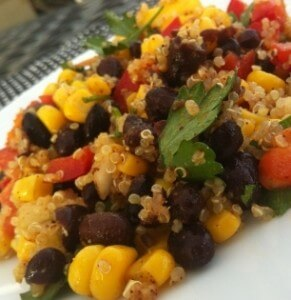 Vegetables, beans and whole grains combine into delicious salads for summer meals