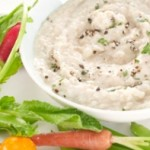 One way to add variety to raw vegetables:   White Bean & Rosemary Dip   -Recipe from Chobani Yogurt at http://www.chobani.com/culture/recipes