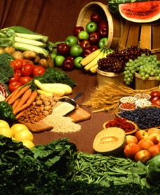 Vegetables & fruits support a healthy blood pressure
