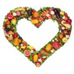 vegetables and fruits are part of heart-healthy eating to reduce high blood pressure
