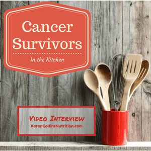 Cancer Survivors on Nutrition: Show Me, Don't Tell Me