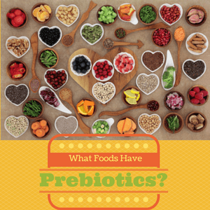 Prebiotic foods support a healthy microbiota