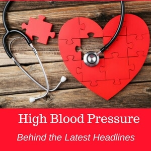 New Hypertension Guidelines and High Blood Pressure Diet