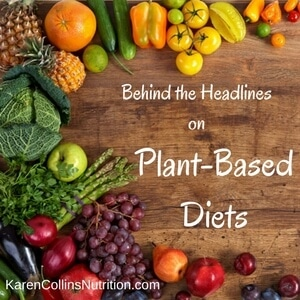 A plant-based diet is a heart-healthy diet recommended for cancer prevention