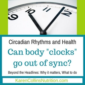 Circadian clocks and eating habits out of sync can affect health