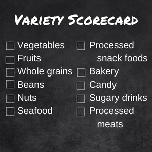 variety of foods can help or hurt