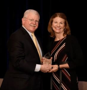 Karen Collins receives AICR award