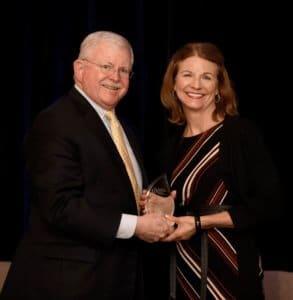 Karen Collins receives AICR award