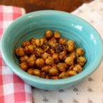 Roasted chickpeas make healthy snacking fun