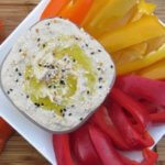 Healthy Snacking Tips: White Bean Dip for Vegetables is a heart-healthy snack