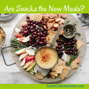 Are Snacks Replacing Meals?