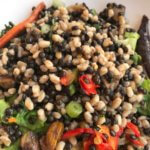 add extra vegetables and whole grains to dishes