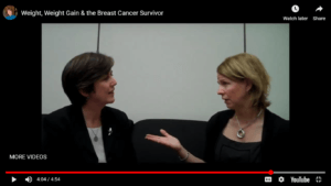 research update on weight management and cancer survivors